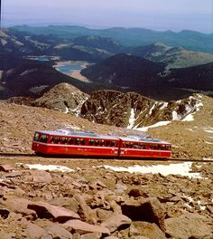 Come take a ride on Pikes Peak with the Cog Railway! For more train information and tickets visit our website at www.cograilway.com