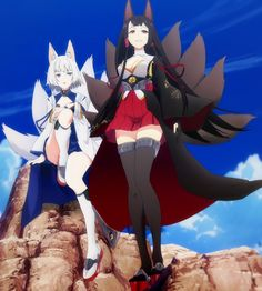 World of Our Fantasy Azur lane Anime Wolf Girl, Kawaii Anime Girl, Anime Art Girl, Anime Girls, Pretty Anime Girl, Beautiful Anime Girl, Game Character Design, Character Art, Female Characters