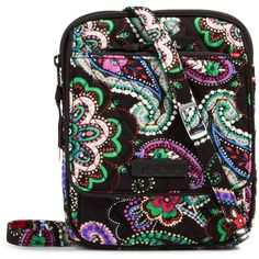 a58be84cfeb Vera Bradley Mini Hipster Crossbody in Kiev Paisley (€45) ❤ liked on  Polyvore