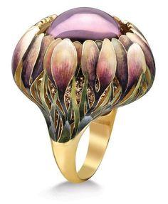 Ilgiz Fazulzyanov biżuteria inspirowana secesją