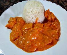 Receta Pollo tikka masala con arroz basmati por Gloria Aries - Receta de la…