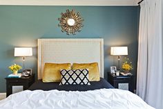 Master Bedroom Color Schemes Awesome Blue Bedroom Color Scheme Home Decor House Painting Home Bedroom, Bedroom Design, Woman Bedroom, Bedroom Decor, Beautiful Bedrooms, Home Decor, Eclectic Bedroom, Bedroom Color Schemes, Bedroom Colors