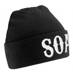 b10b8479f1b Sons Of Anarchy  SOA  Beanie Hat - Sons of Anarchy - S - TV