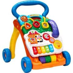 From baby steps to big steps the Sit-to-Stand Learning Walker by VTech helps your child develop from a crawler to a walker through adaptive technology. #myrrhshop #onlineshoppingnetwork #babytoysforgirls http://babytoys.myrrhshop.com/product/vtech-sit-to-stand-learning-walker-frustration-free-packaging/