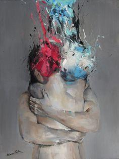Ванесса Путу (Vanessa Poutou) - современный австралийский художник, чья работа фокусируется на классическом описательном изображении, выполненном в современном стиле. Родилась в 1979 году. Акцент Ванесса делает на выражениях лиц и движениях тела, которые