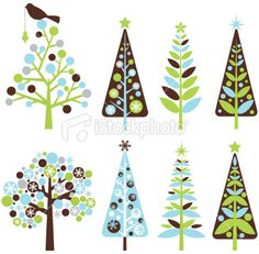 Google Image Result for http://i.istockimg.com/file_thumbview_approve/10677257/2/stock-illustration-10677257-retro-christmas-trees.jpg