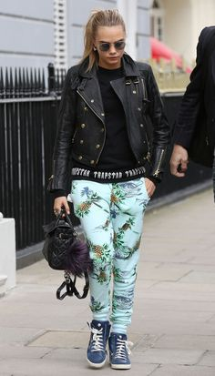 Leaving her house in London. See all of Cara Delevingne's best looks.
