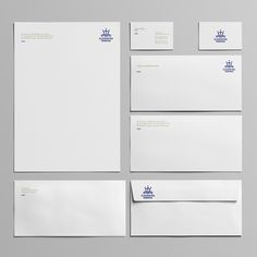 Logo and corporate identity for Cleopatra Marina in Actium by 2yolk by 2yolk.