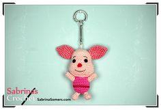 Piglet - Winnie the Pooh - Free Crochet Pattern - Amigurumi