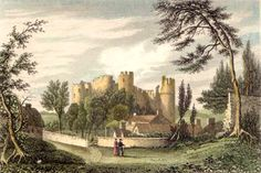 In 1644 during the English Civil War, Laugharne was captured by Royalists after a weeklong siege when Parliamentary forces under Major-General Rowland attacked the castle.  It had been damaged by cannon fire and further destroyed to prevent later use. It was left as a romantic ruin during the 18th century, and around the start of the 19th century the outer ward was laid with formal gardens.   16