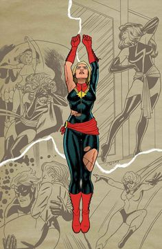 Captain Marvel - Joe Quinones