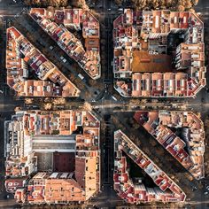 Hungarian photographer Márton Mogyorósy used a drone to capture aerial shots of Barcelona, including Rocardo Bofill's Walden 7 Photography Series, Aerial Photography, Street Photography, City Architecture, Historical Architecture, Classical Architecture, Landscape Architecture, Fotografia Drone, Gaudi