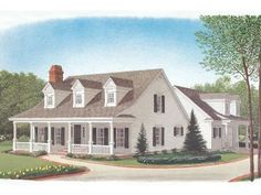 2-Story Country Home, 054H-0090