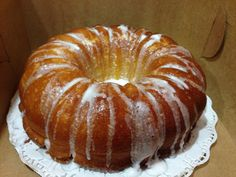 Jamaican Rum Pound Cake with Glaze
