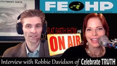 Flat Earth Interview #1 Celebrate Truth w/ Robbie D on 'Flat Earth & Oth...