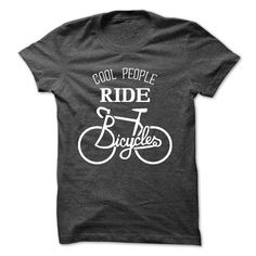 Cool people ride bicycles