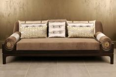 Bolsters Sofa (Leather)