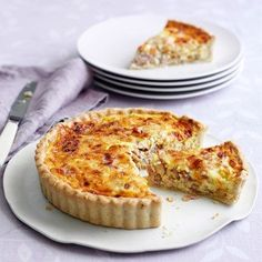 Mary Berry's recipe for a classic Quiche Lorraine on HOUSE - design, food and travel by House & Garden.