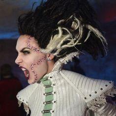 Bride of Frankenstein--dreadlocks