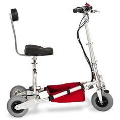 The TravelScoot is the lightest and best mobility scooter or electric wheelchair in the world! It folds and unfolds as quick and easy as an umbrella and runs on Lithium Ion (Li-Ion) batteries Making Life Easier, New Inventions, Electric Bicycle, Bike, Buy Scooter, Gadgets, Mobility Scooters, Wheelchairs, Chronic Illness