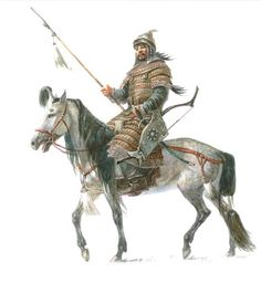 Probably Mongols had best cavalry in the world. They had used cavalry for all types of purposes. Six of every ten Mongol troopers were light cavalry horse. Historical Art, Historical Pictures, Mongolia, Character Art, Character Design, Art Of Fighting, The Legend Of Heroes, Fantasy Warrior, Medieval Fantasy