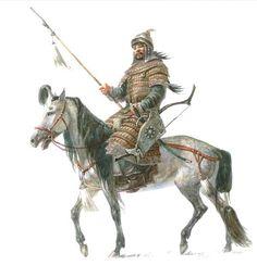 Pictures of Steppe Warriors | Steppe History Forum | монгольский воин XIII век