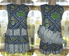 Vintage 60s Hawaiian Tunic Top & Shorts Set Sz 14 Pacific Isle Creations 2 Piece Swim Surf Luau Tiki Beach Wear Cotton Barkcloth