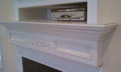 The Lookout Custom Fireplace Mantel Shelf