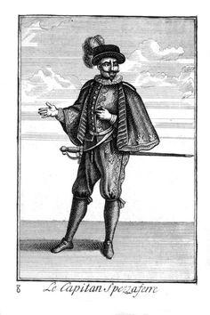 Capitano-sesar - Капитан (комедия дель арте) — Википедия