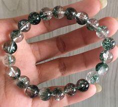 #stonebracelet  #bracelet #healingcrystals #fengshui  #charmbracelet #healingstone Healing Stones, Crystal Healing, Phantom Quartz, Stone Bracelet, Feng Shui, Charmed, Crystals, Bracelets, Jewelry