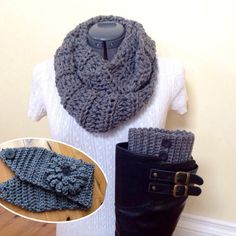 READY TO SHIP Boot cuff gift set with by GrindleHillFineGoods