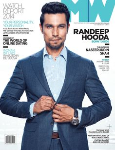 Randeep Hooda has featured on the cover of Man's World magazine for their October issue. The actor looks dapper on the cover. Bollywood Photos, Bollywood Stars, Looking Dapper, Good Looking Men, Sarabjit Singh, Punjabi Men, Randeep Hooda, Indian Heritage, Photoshoot Inspiration
