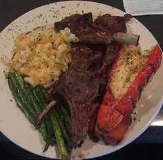 Images of Food. Steak And Lobster Dinner, Seafood Dinner, Comida Picnic, Food Obsession, Food Goals, Aesthetic Food, Food Cravings, I Love Food, Soul Food