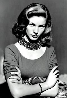 agirlandherpearls:    Bacall on a Thoughtful Thursday  vintage-retro:    Lauren Bacall. ♥
