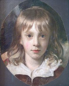 Portrait of a Boy attributed to Richard Elmore.  From the Garman Ryan Collection at the New Art Gallery Walsall.