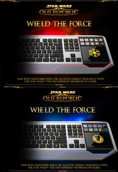 The Star Wars: The Old Republic Keyboard by Razer