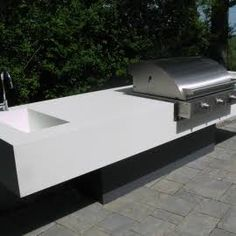cantilevered BBQ bench - Google Search