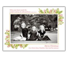 Comfort and Joy Merry Christmas Love, Christmas Photo Cards, Christmas Photos, New Year Greeting Cards, New Year Greetings, Comfort And Joy, Diy Cards, All The Colors, First Love