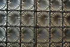 grillework | Grillework gate of the Vicens House