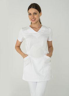 273c2d6de05 Туника 1.02 Б/ Дизайнерская медицинская одежда www.lechikrasivo.ru #medicine