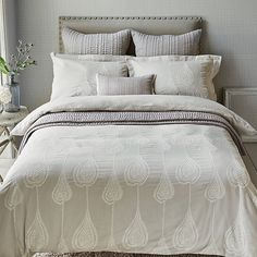 Buy Harlequin Purity Gigi Cotton Oxford Pillowcase Online at johnlewis.com