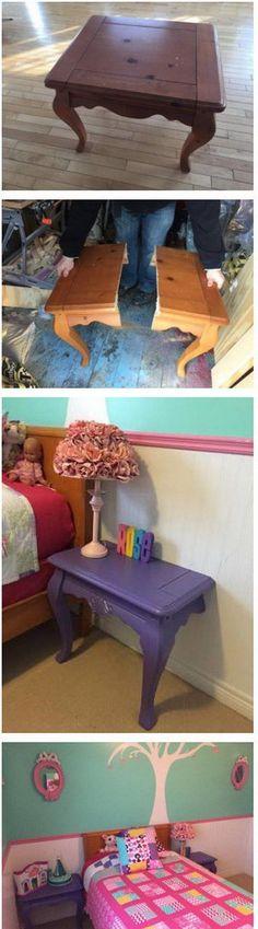 20 DIY Ideas to Reuse Old Furniture - DIY Ideas Of Reusing Old Furniture 15 - Diy & Crafts Ideas Magazine