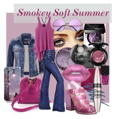 Smokey Soft Summer by prettyyourworld on Polyvore featuring prAna, maurices, Sonia Rykiel, Steve Madden, Nine West, Christian Louboutin, Yves Saint Laurent, Bobbi Brown Cosmetics, MAC Cosmetics and Urban Decay