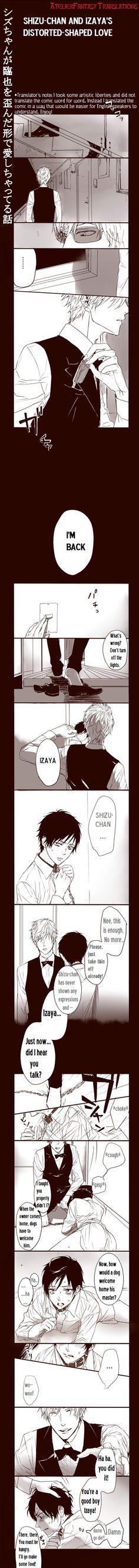 Oh a sadism Shizu-chan