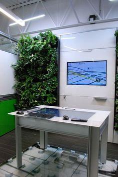 #Green Walls! @DIRTT Environmental Solutions - Breathe