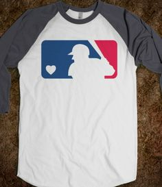 I WILL TAKE 2 PLEASE!!!!!!!!MLB Baseball Tee. Just because every girl needs a couple essential tees.