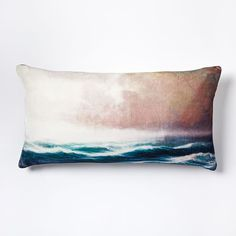 Scenic Sea Pillow Cover
