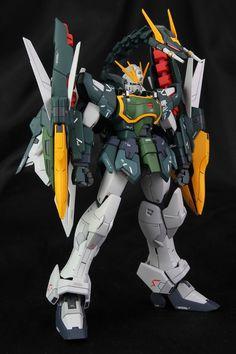 GUNDAM GUY: MG 1/100 Altron Gundam [Glory of Losers Ver.] - Custom Build