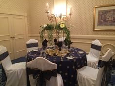 Gorgeous table for an elegant affair