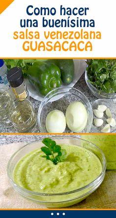 Como hacer una buenísima salsa venezolana. GUASACACA